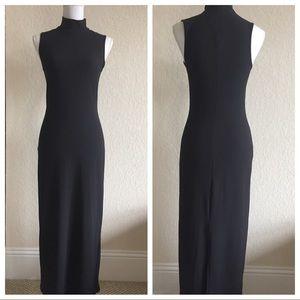 Vintage Boston Proper long black dress